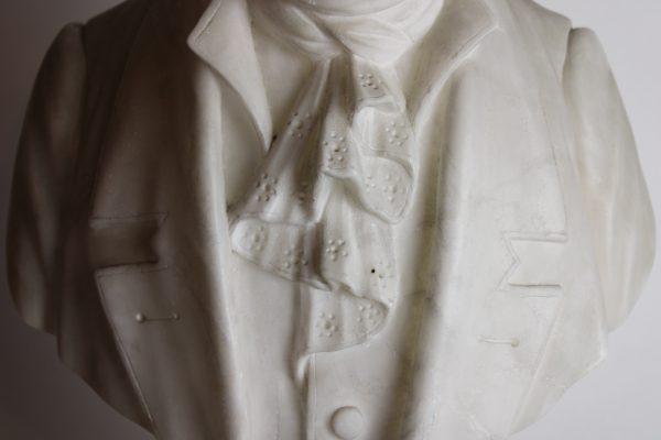 Alebastro Ludwig van Beethoven skulptūra