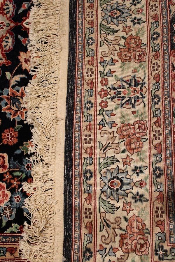 Rankų darbo šilkinis Kashmir kilimas 245 cm. x 151 cm.