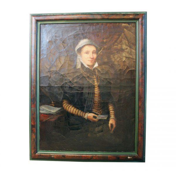 Portretas P. Coecke van Aelst 19 a. vid.