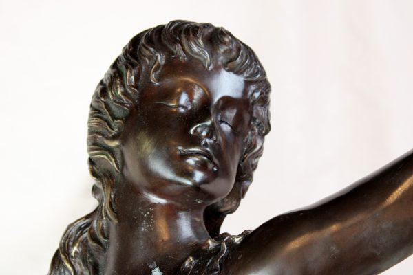 """Art Deco bronzinė skulptūra """" Balerina"""""""