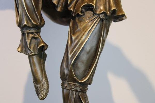 """Art Deco bronzinė skulptūra """"Šokėja"""""""