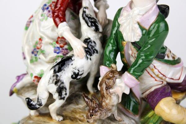 Sandizell Höffner & Co porcelianinė skulptūra 20 a. pr.