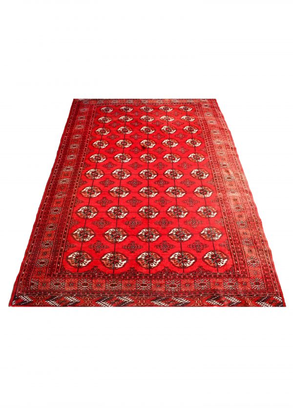 Rankų darbo Afghan kilimas 294 x 210 cm.
