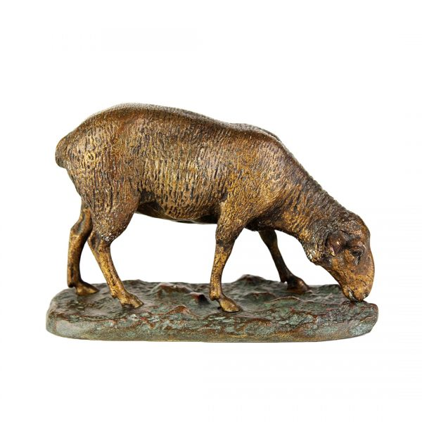 "Antikvarinė E. Sienard skulptūra ""Avis"" 19 a. pab."