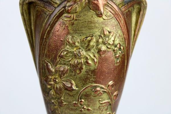 Art Nouveau stiliaus vazų pora