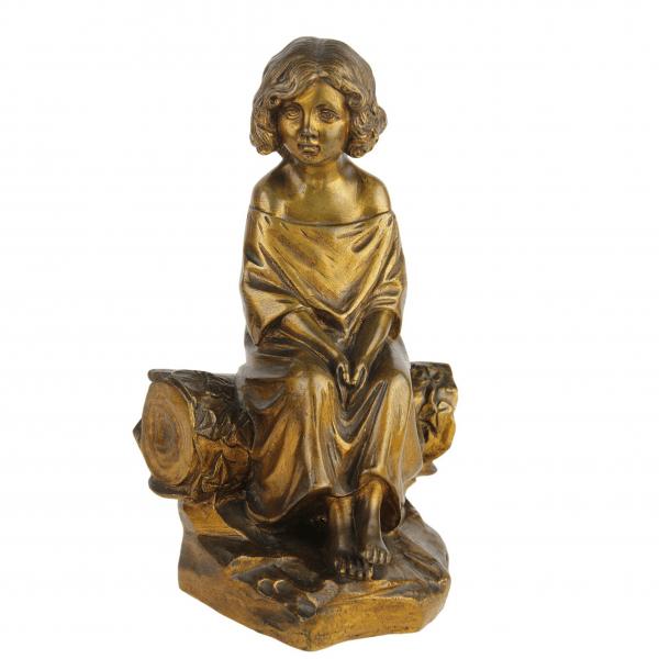 Antikvarinė M. Pascal bronzinė skulptūra