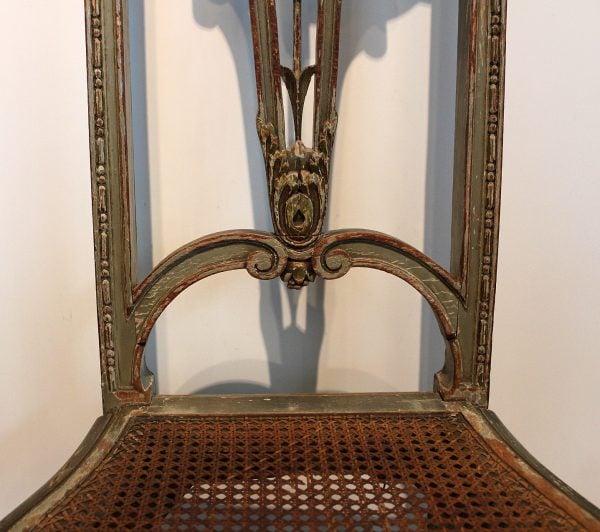 Gustavo III stiliaus antikvarinės kėdės