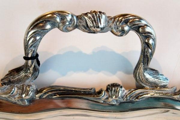 Rococo stiliaus padėklas 19 a. pab.