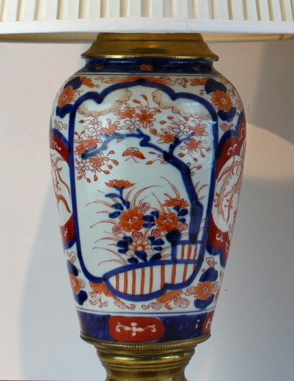 Antikvariniai Imari stiliaus japoniški toršerai