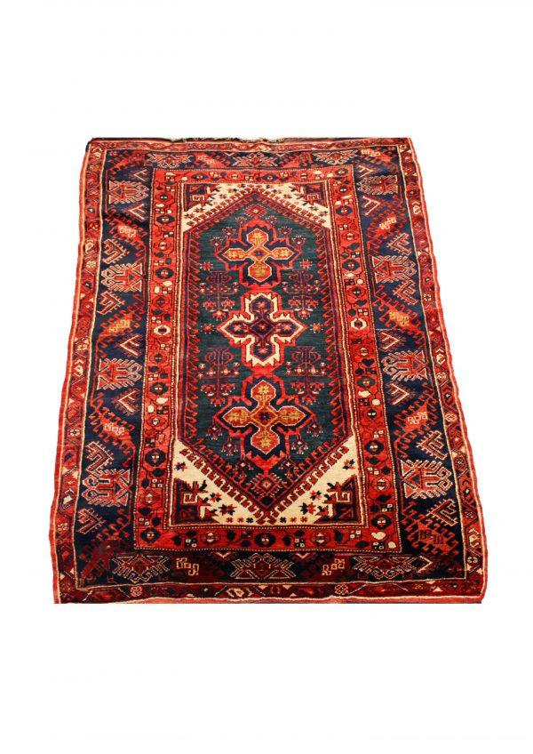 Rankų darbo Kazak vilnonis kilimas 173 x 120 cm.