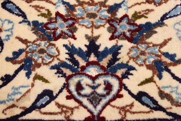 Persiškas rankų darbo Nain kilimas 307 x 200 cm