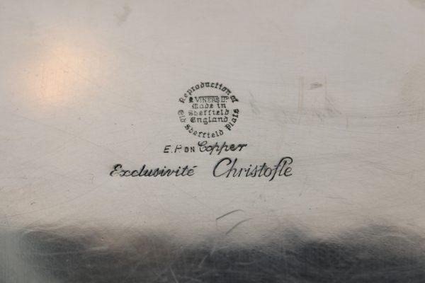Christofle pasidabruotas padėklas