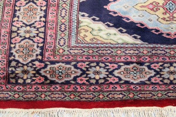 Rankų darbo Kazak vilnonis kilimas 186 x 128 cm