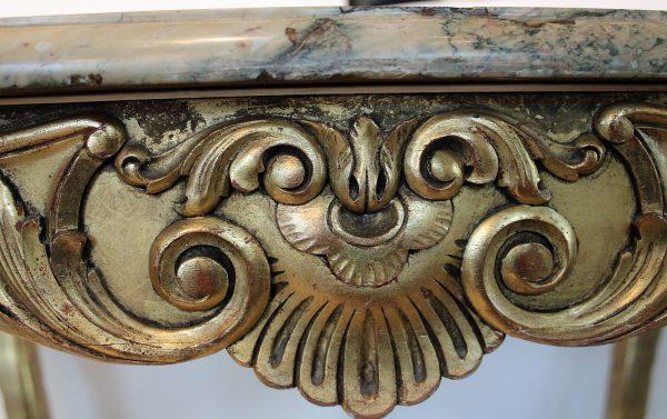 Antikvarinis rococo stiliaus centrinis staliukas