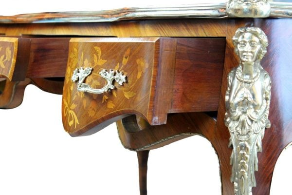 Liudviko XV-ojo stiliaus antikvarinis rašomasis stalas