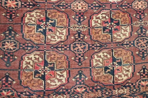 Tekke Turkmen Bokhara vilnonis kilimas 347 x 210 cm