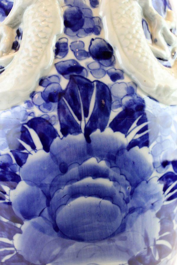 Antikvarinė kiniška porcelianinė vaza