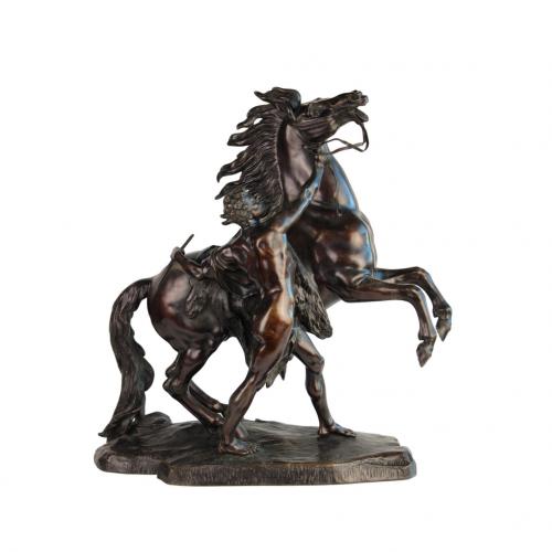 """Bronzinė skulptūra """"Marly žirgas"""" 19 a. pab."""