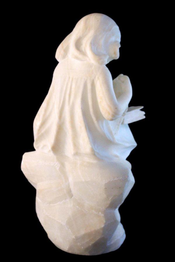 Antikvarinė alebastro skulptūra