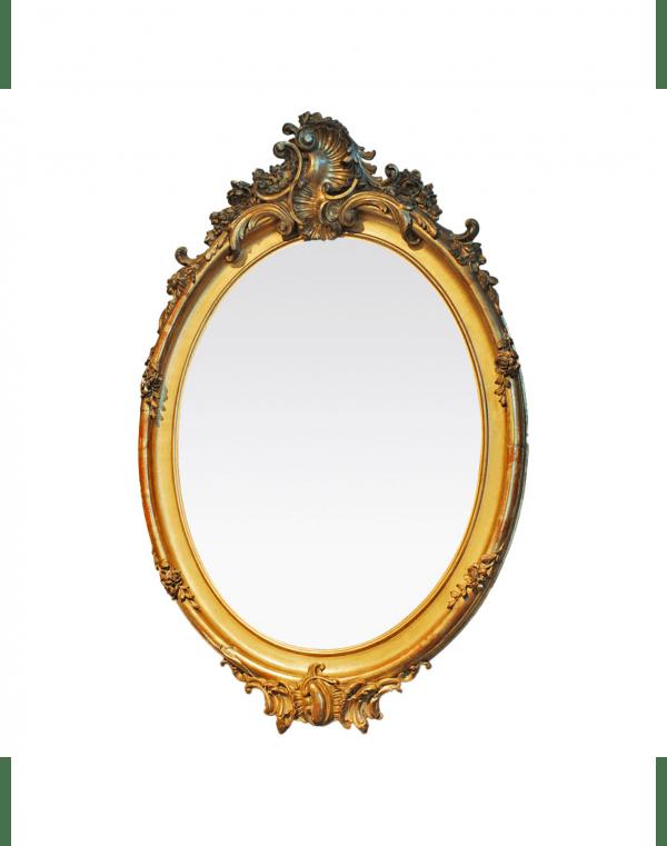 Rococo stiliaus veidrodis 19 a. pab.