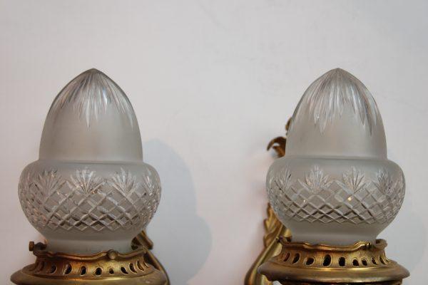 Rococo stiliaus sieniniai šviestuvai