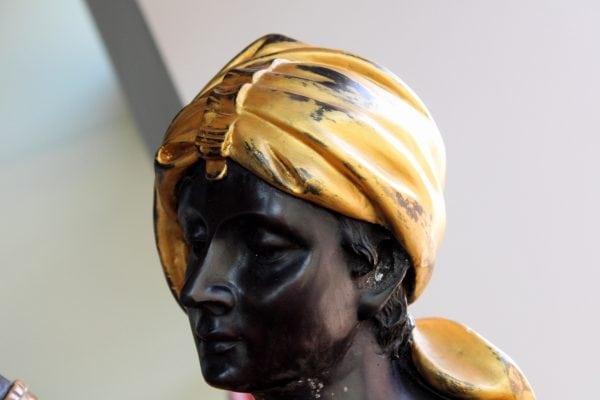 """Bronzinės skulptūros """"Marokietės"""""""