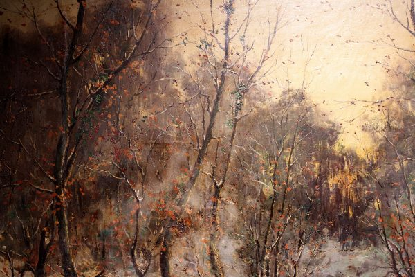 """Antikvarinis Louis Garot paveikslas """"Ruduo"""""""