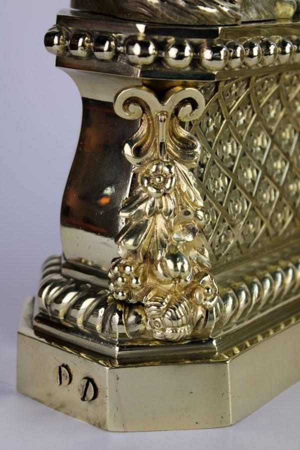 Liudviko XIV stiliaus židinio aksesuarai