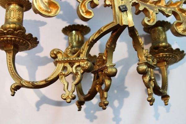 Napoleon III sieninės žvakidės 19 a. pab.