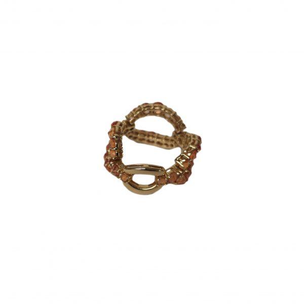 HERMES žiedas su safyrais