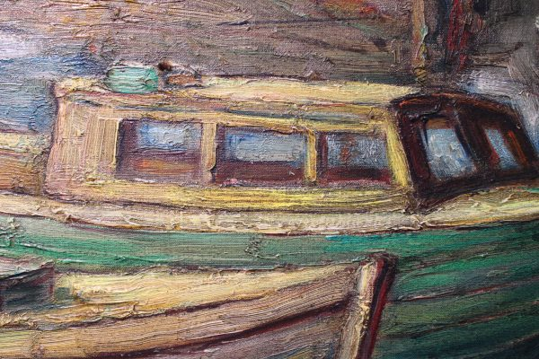 "Leon Dieperinck paveikslas ""Uostas"""