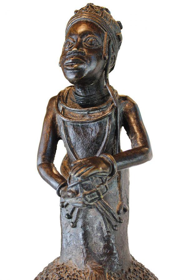 Bronzinės Benino skulptūros