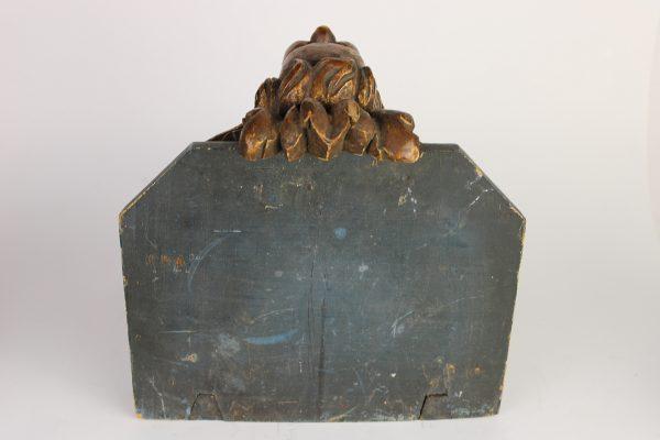 Antikvarinė paauksuota sieninė konsolė
