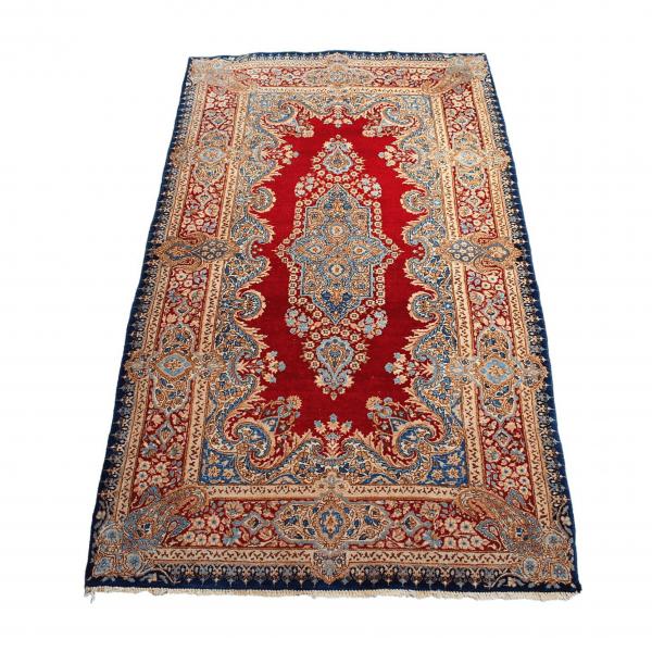 Rankų darbo persiškas Kerman Antik kilimas