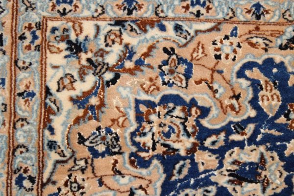Rankų darbo vilnonis Nain kilimas