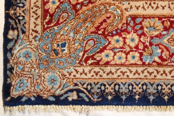 Rankų darbo persiškas Kerman Antique kilimas