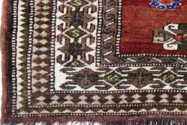 Rankų darbo Afghan vilnonis kilimas