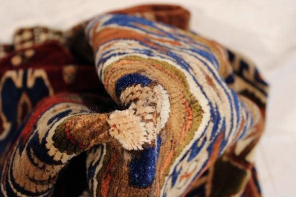 Rankų darbo vilnonis kilimas