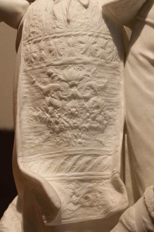 """Antikvarinė L. Gregoire marmurinė skulptūra """"Šokis"""""""