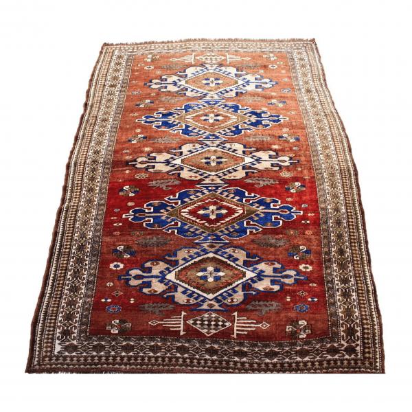 Rankų darbo Kazak vilnonis kilimas
