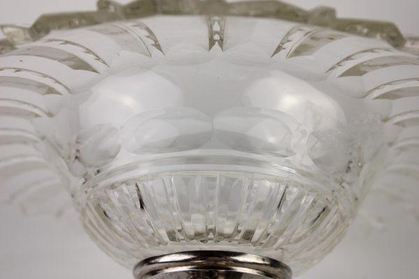 Liudviko XVI stiliaus sidabrinės lėkštės 19 a. pab.