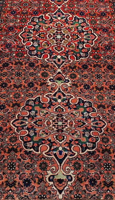 Rankų darbo Bijar Takab Bukan kilimas