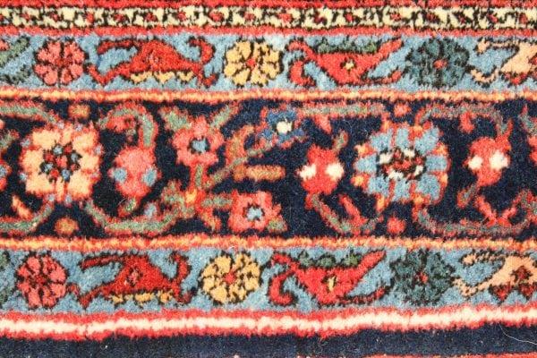 Persiškas rankų darbo Bidjar Antique kilimas
