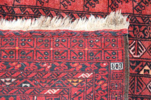 Rankų darbo vilnonis Afghan kilimas