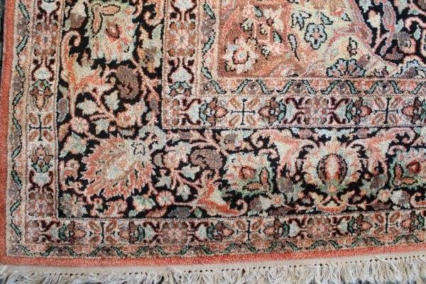 Šilkinis rankų darbo Kashmir kilimas