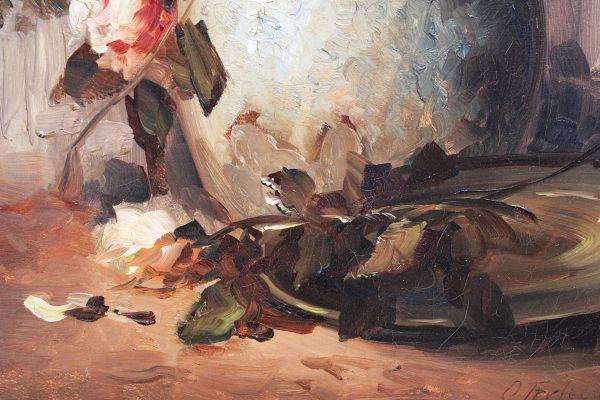"""Antikvarinis paveikslas """"Bijūnai"""""""