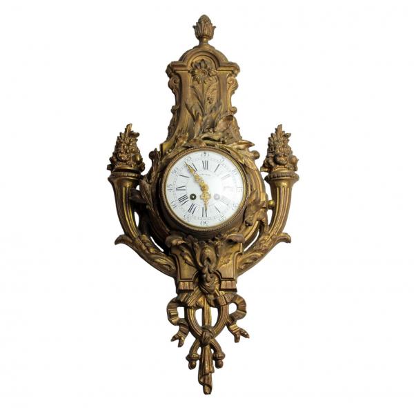 Louis XVI stiliaus sieninis laikrodis